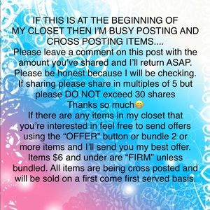 If you want your shares returned please comment